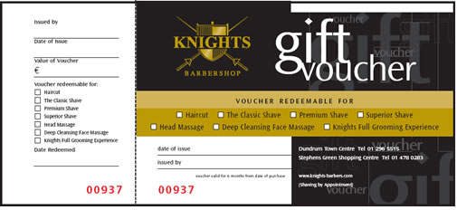 kilian palacio View Sample The Gift Voucher – Sample Vouchers